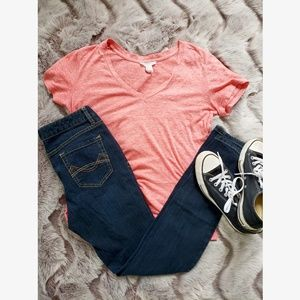 Forever 21 Faded Red T-shirt